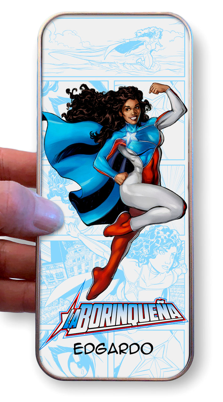La Borinqueña's Personalized Pencil Case