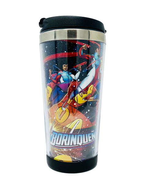 La Borinqueña's Travel Flask