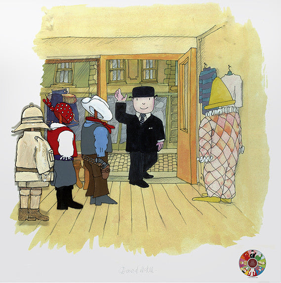 Mr Benn Waves