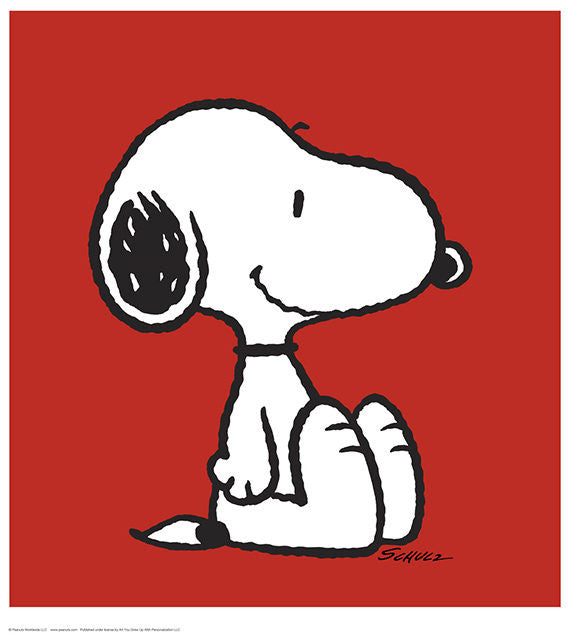 Snoopy - Red