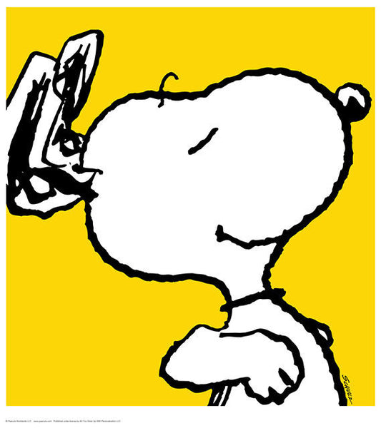 Snoopy - Yellow