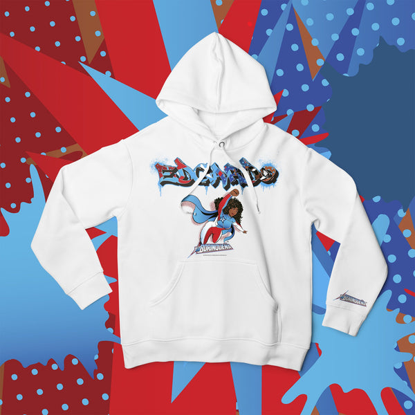 La Borinqueña X Crash One Graffiti Personalised Hoodie