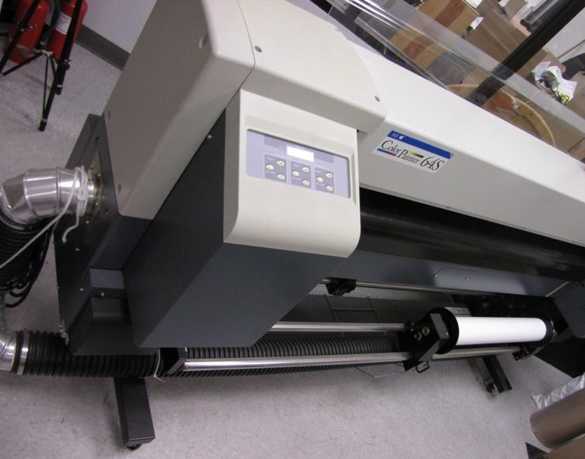 Seiko ColorPainter 64S SII IP-6600 Vinyl Banner Plotter Printer 64""