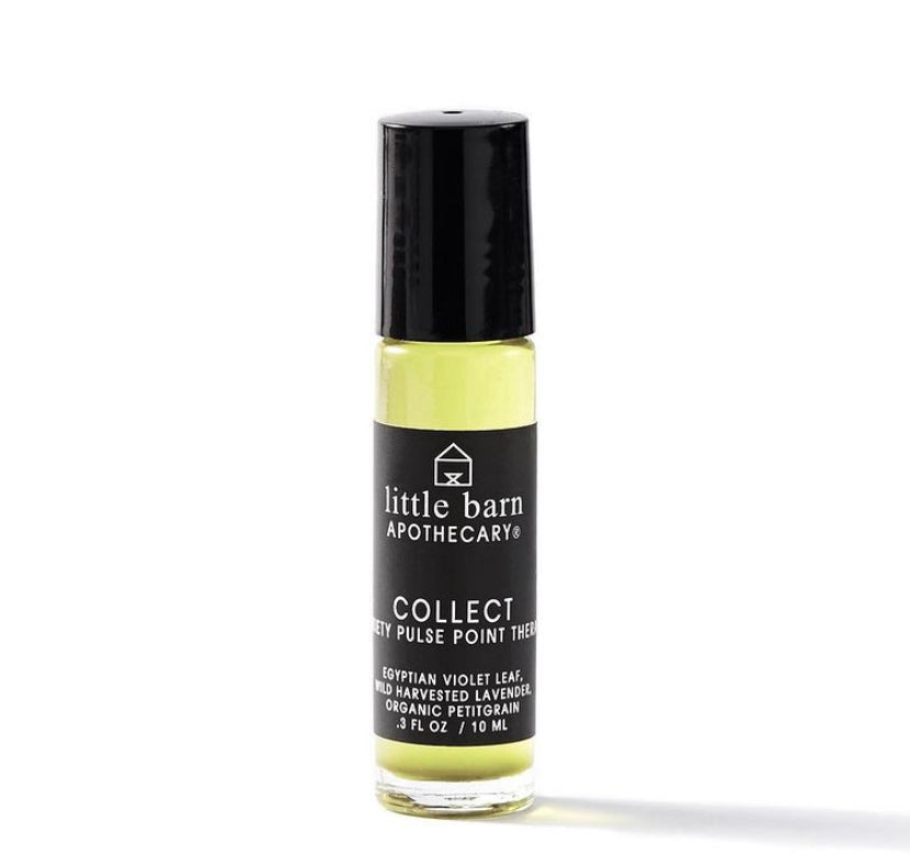 Little Barn Apothecary Collect Anxiety Aromatherapy Rollerball