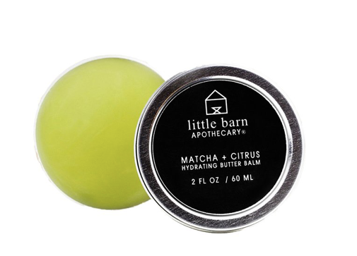 Little Barn Apothecary Hydrating Butter Balm - Matcha + Citrus