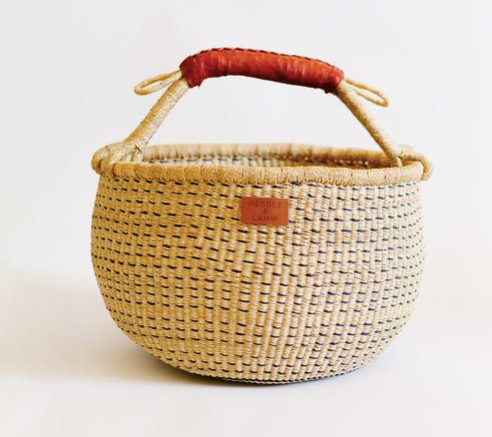 Heddle and Lamm Ufa Bolga Basket