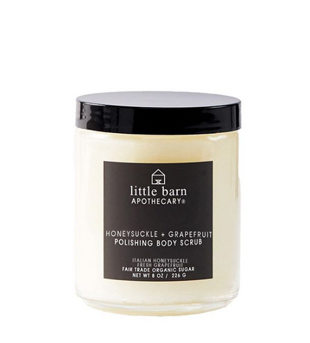 Little Barn Apothecary Honeysuckle + Grapefruit Body Polish