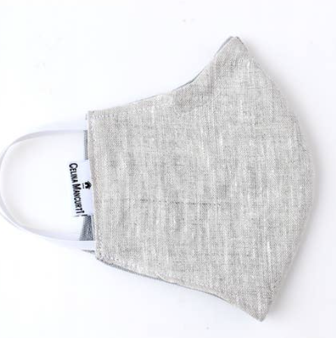 Face Mask - Oatmeal Linen