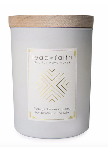 Ethics Supply Co. Leap of Faith Candle - Passionfruit, Vanilla, Wild Orchid + Neroli Frangipan