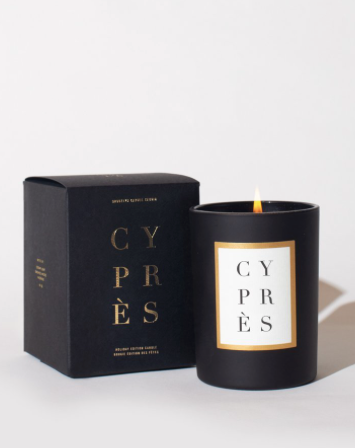Limited Edition Brooklyn Candle Studio Holiday Cypress - Pine, Cypress, Balsam