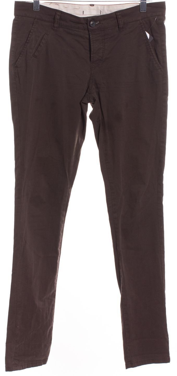 All Saints Brown Straight Leg Chinos Bottom - 1000CUBED