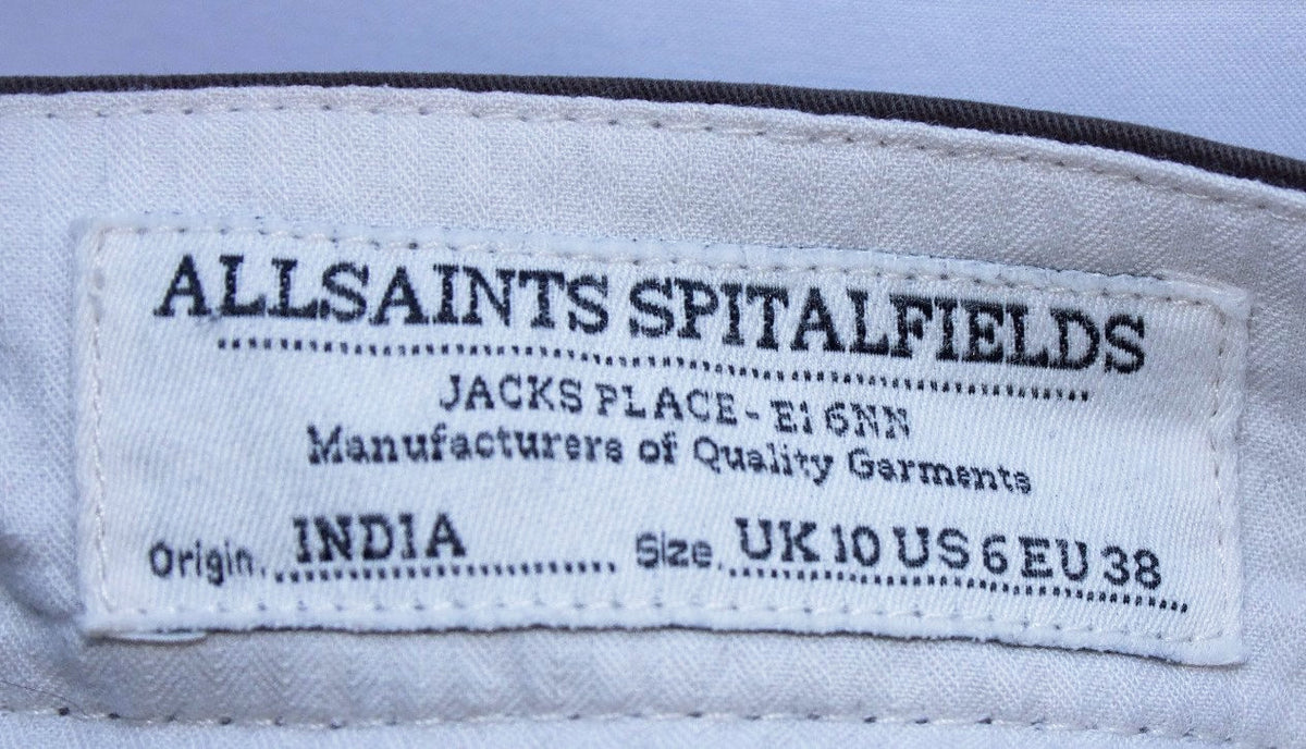 * All Saints Chinos