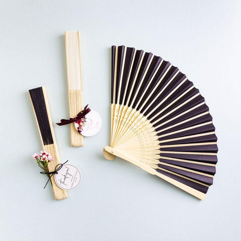 Wedding Fan Favours - Personalised