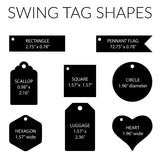 Wooden Swing Tag