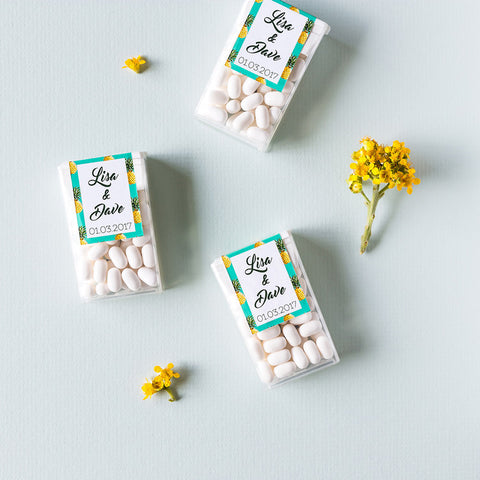 Tic Tac Wedding Favour