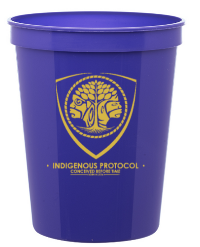 INDIGENOUS PROTOCOL PLASTIC REUSABLE STADIUM CUP !
