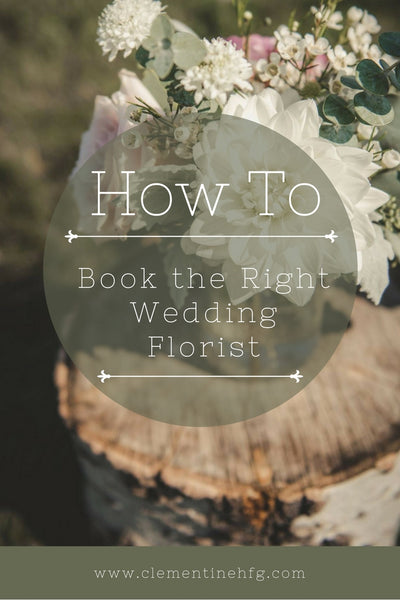 How To Book the Right Wedding Florists for Your Big Day