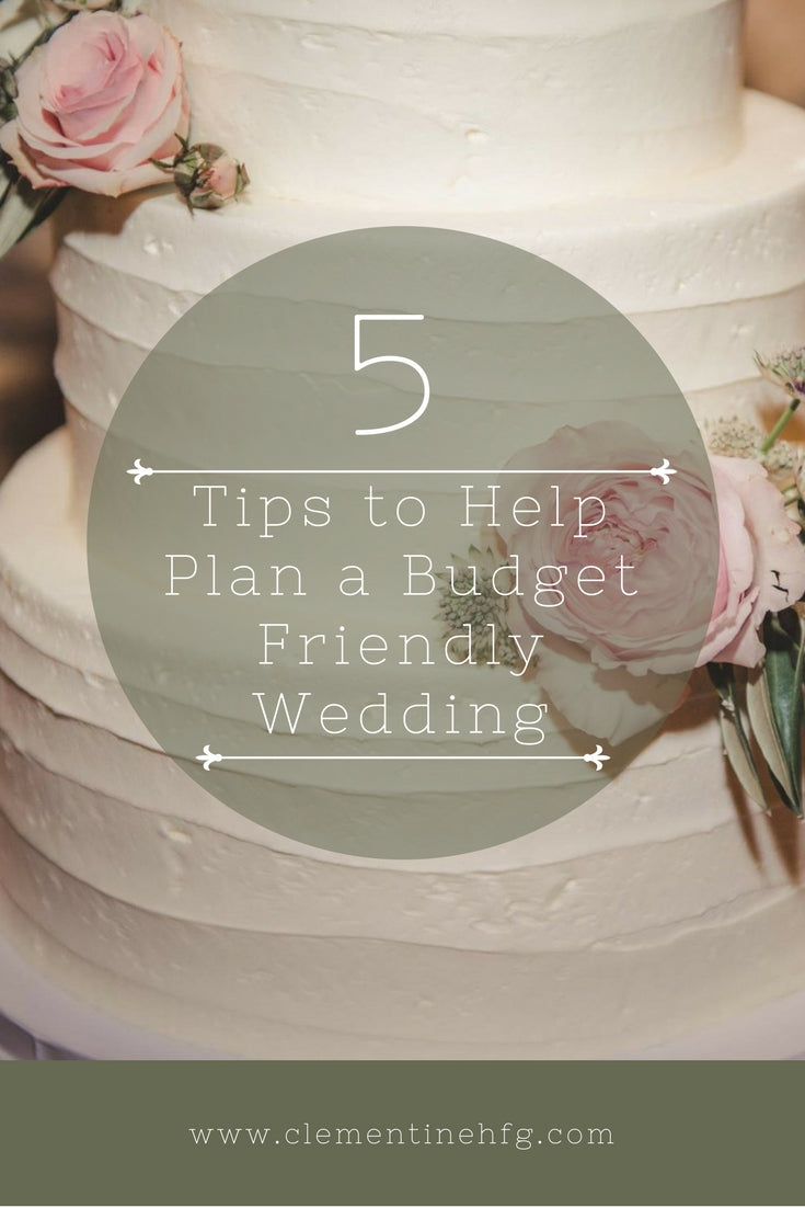 5 Quick Tips for Planning a Budget-Friendly Wedding