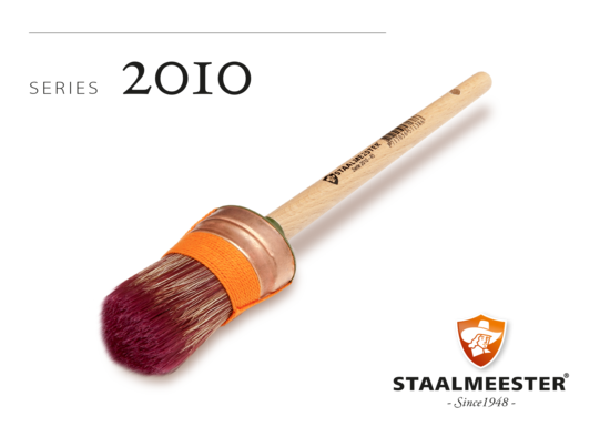 Staalmeester Brush - J - Oval #45
