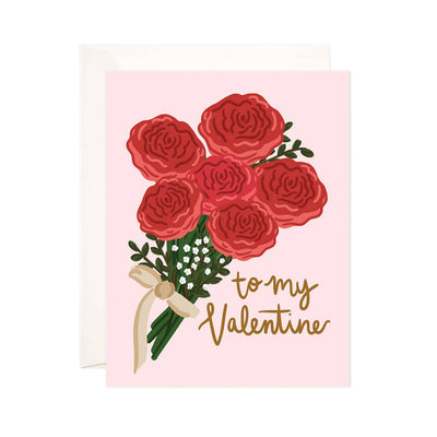 To My Valentine Greeting Card