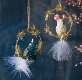 Cockatiel Ornaments