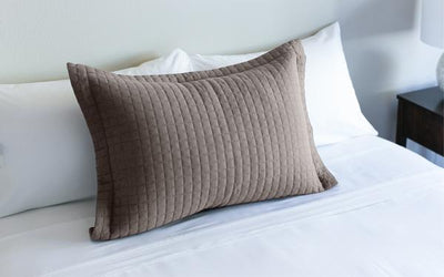 Single Pillow Sham - Mocha