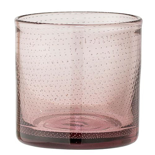 Bubble Glass Votive Holder