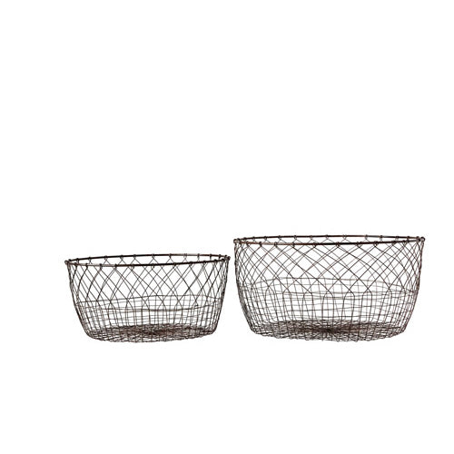 Handmade Wire Baskets