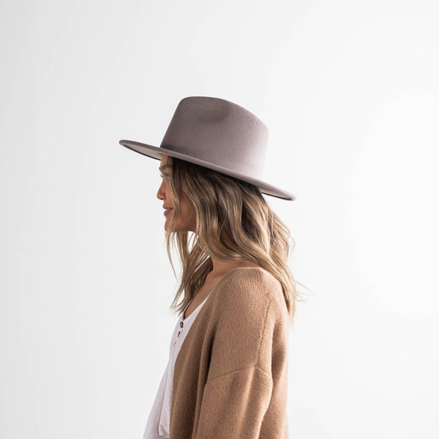 Pre-Order : Wes Fedora - Light Grey