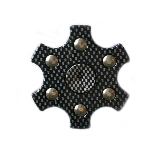 Carbon Star Fidget Spinner