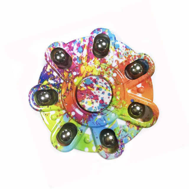 Paint Splatter Fidget Spinner