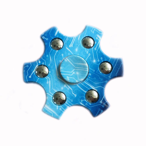 Circuit Blue Fidget Spinner