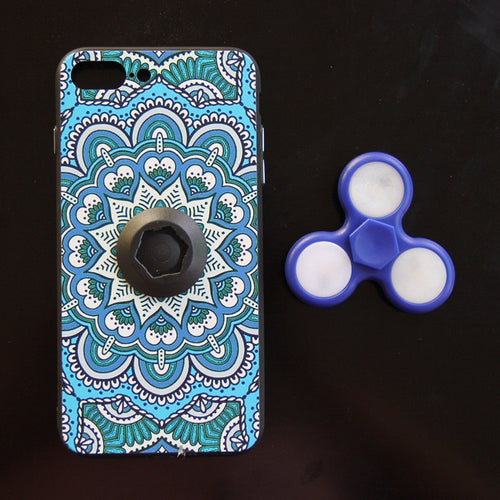 Fidget Spinner with LED Phone Case