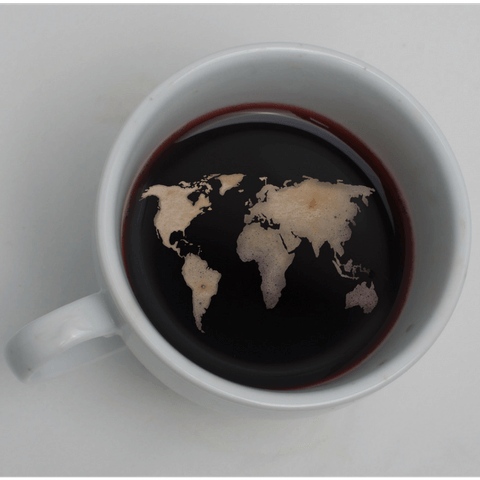 Organic coffee from all over the world