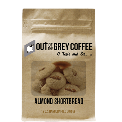 Almond Shortbread Flavored Organic Coffee - Out Of The Grey Coffee