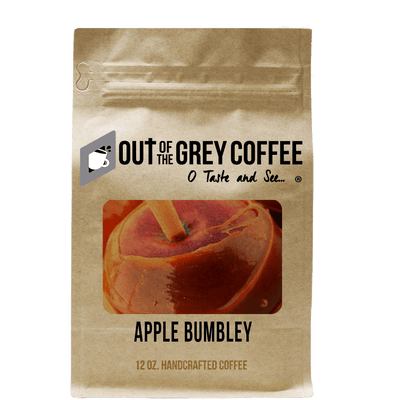 Apple Bumbley Flavored Organic Coffee - Out Of The Grey Coffee