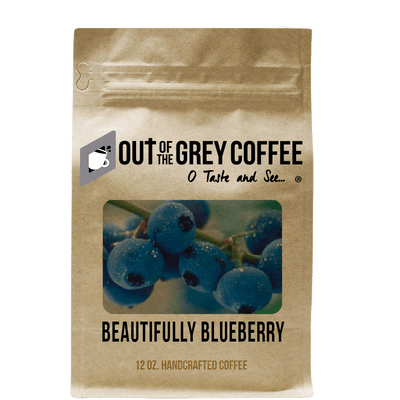 Beautifully Blueberry Flavored Organic Coffee