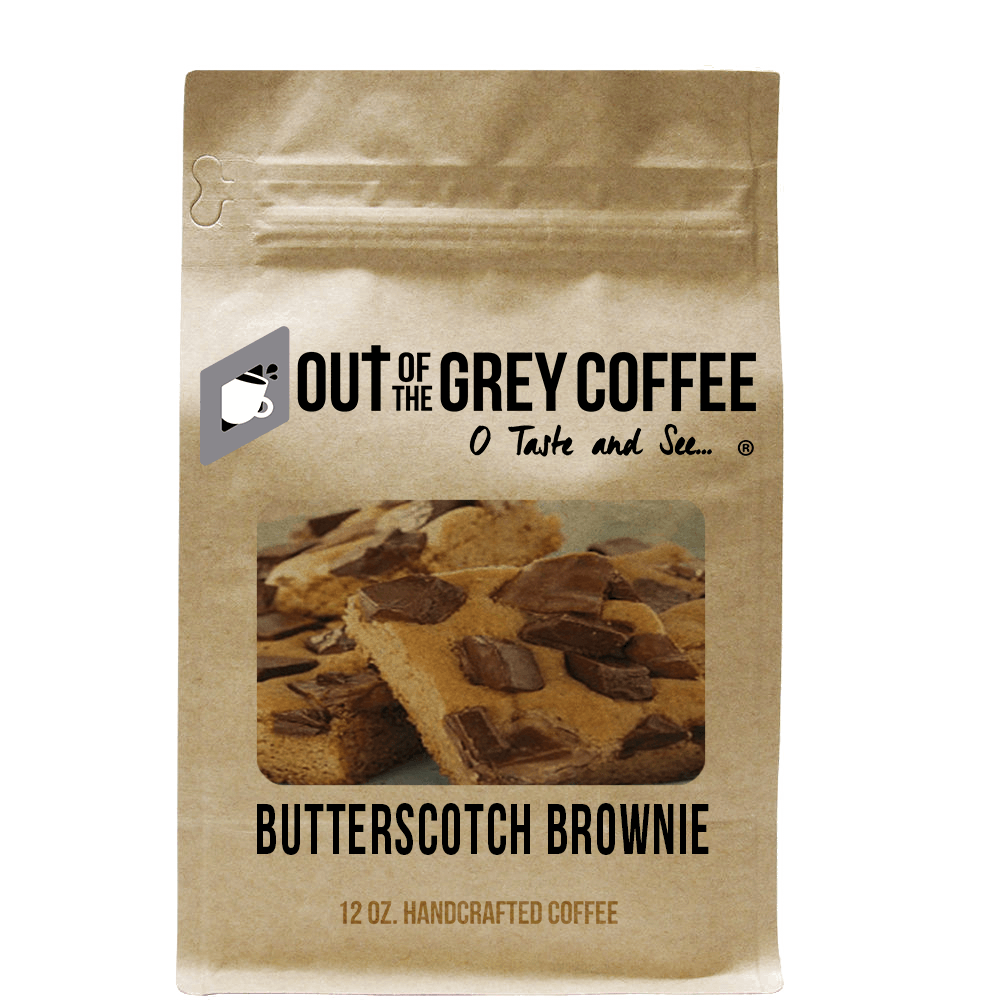 Butterscotch Brownie - Flavored Organic Coffee