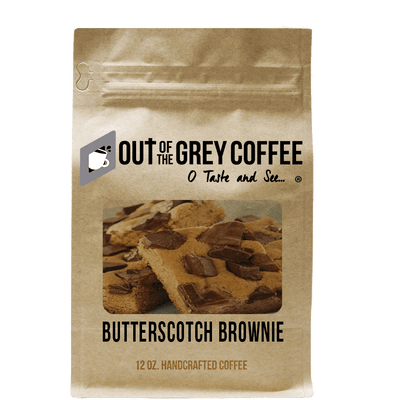 Butterscotch Brownie Flavored Organic Coffee
