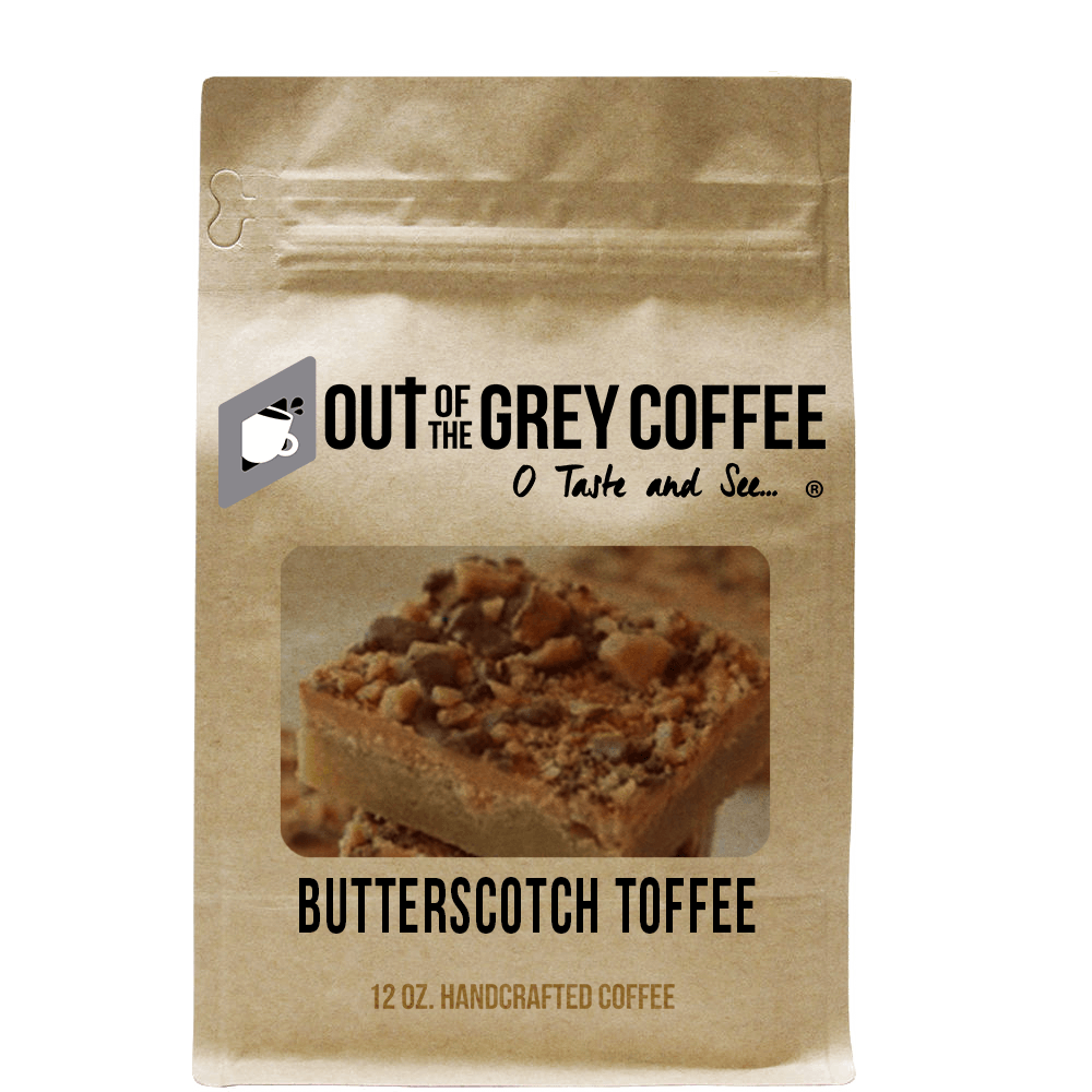 Butterscotch Toffee - Flavored Organic Coffee