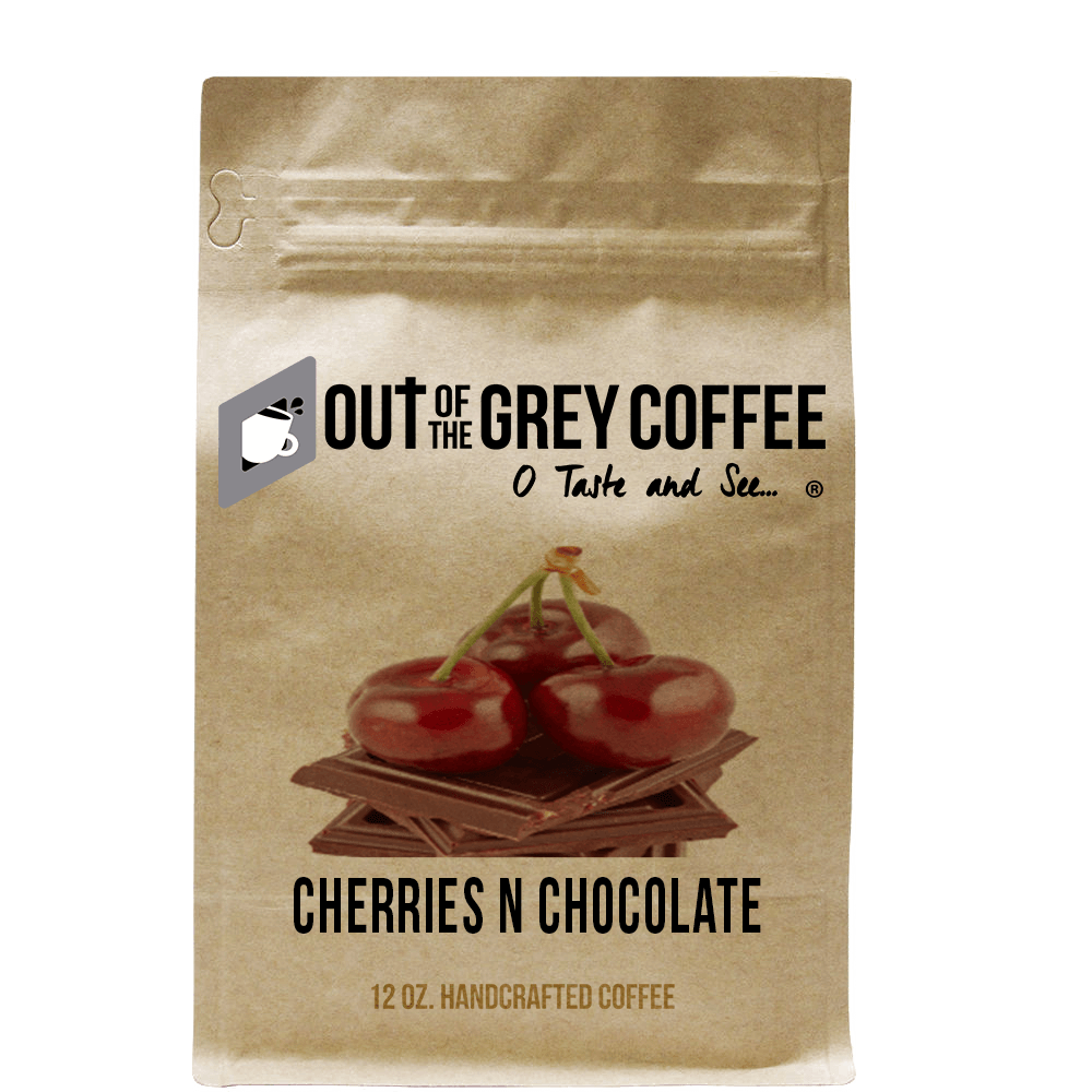 Cherries N Chocolate - Flavored Organic Coffee