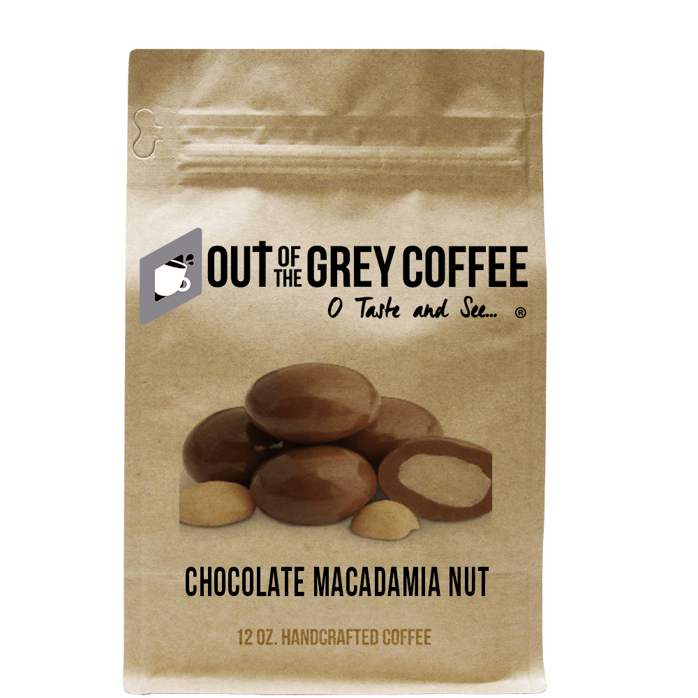 Chocolate Macadamia Nut - Flavored Organic Coffee