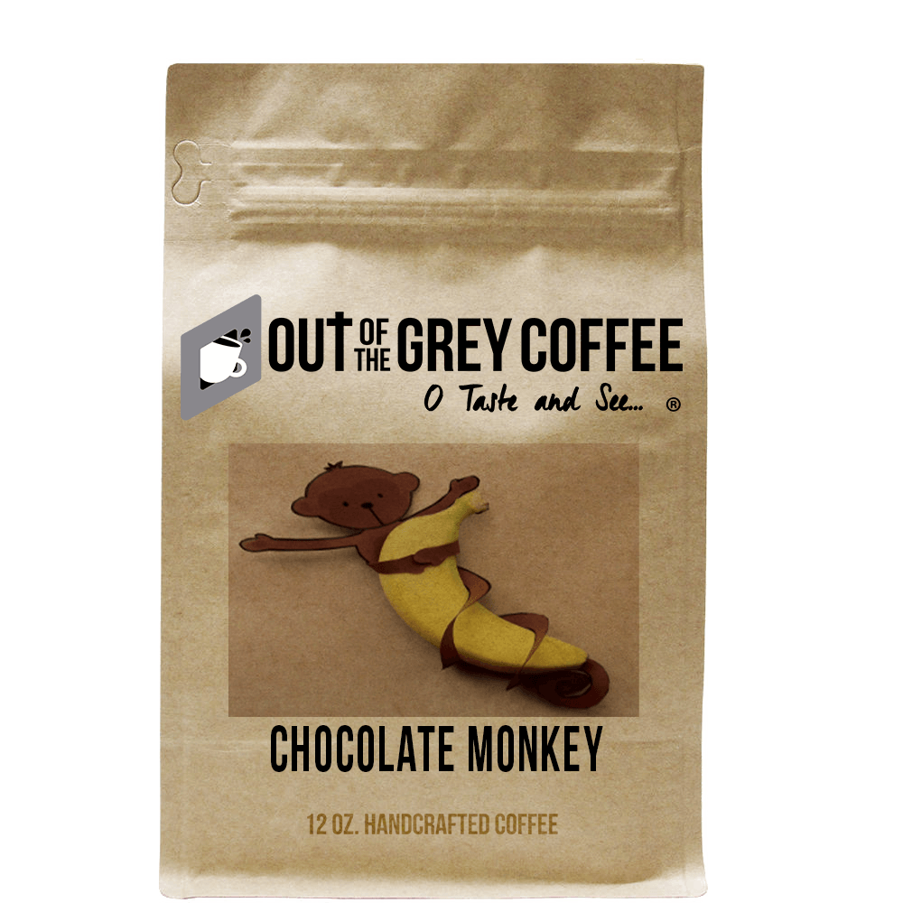 Chocolate Monkey - Flavored Organic Coffee