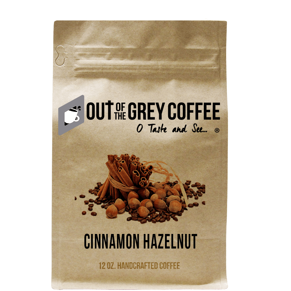 Cinnamon Hazelnut - Flavored Organic Coffee