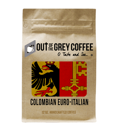 "Single Origin Colombian Supremo Viennese ""Euro-Italian"" Organic Coffee"