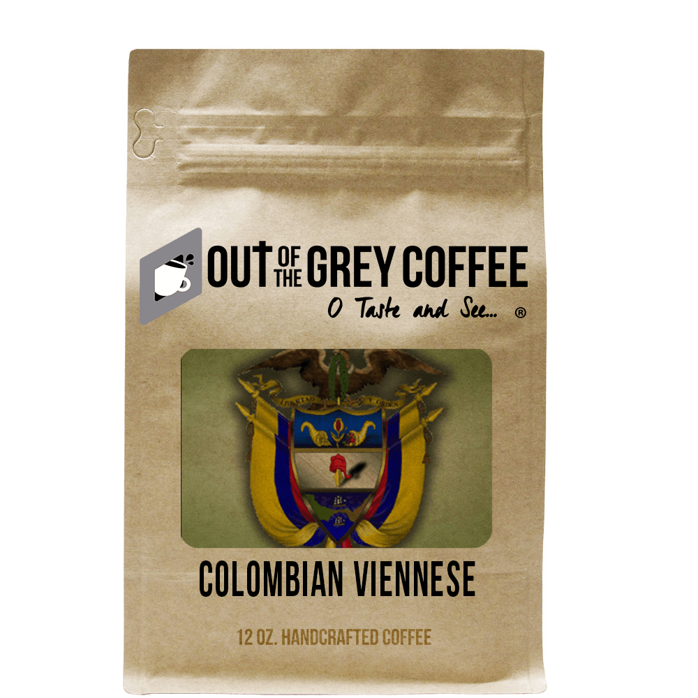 Single Origin - Colombian Supremo Viennese - Organic Coffee