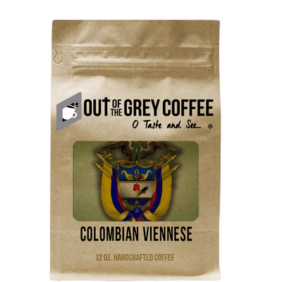 Single Origin Colombian Supremo Viennese Organic Coffee - Out Of The Grey Coffee