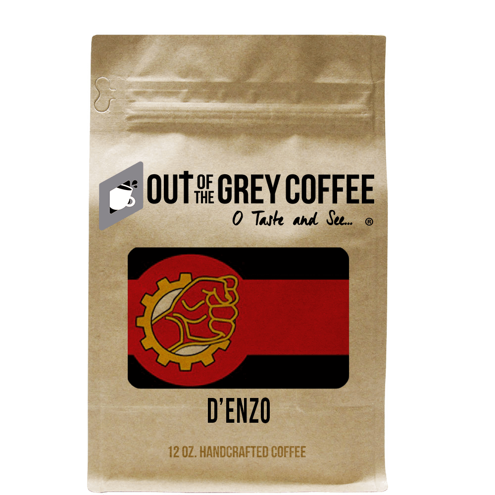 D'enzo Organic Coffee Blend - Out Of The Grey Coffee
