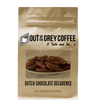 Dutch Chocolate Decadence Flavored Organic Coffee - Out Of The Grey Coffee