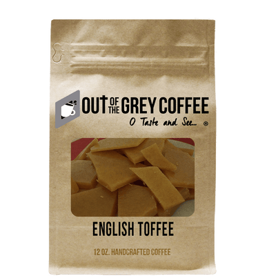 English Toffee Flavored Organic Coffee